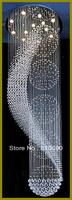 HI-QUALITY/FREE LED BULB/110-240V FRUITS & LEAF DESIGN K9 CRYSTAL/CHANDELIER LIGHT/LIGHTING/LAMP/WIRE/HOTEL/LIVING ROOM/LARGE