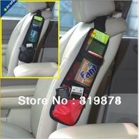 Global DHL free shipping :200pcs+Multi Car Back Seat Organizer Pocket Storage Organiser storage bag organizer