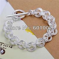 LQ-H023 Free Shipping Wholesale 925 silver Fashion Jewelry Bracelets, 925 Silver Bracelets aoda jfka rwta