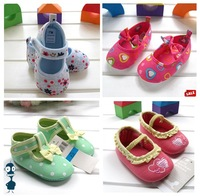 Wholesale new fashion cute design baby toddler shoes prewalker first walkers shoes infant booties 36 pairs/lot brand shoes WS015