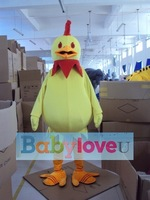 NEW BZTX40-2012 chicken Mascot Adult Costume kids party outfit HOT SALE