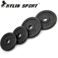 2.5kg x n Paint small hole dumbbell film barbell rocker arm