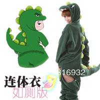 K2 M71 New Fashion S M L XL Adult Dinosaur Sleepwear Cosplay Costumes, 1pc