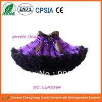 purple tutu pettiskirt,black extra size fit for 9T-14T  skirt tutus