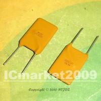 100 PCS RUEF500 30V 5A DIP-2  X30 UF500 Polyswitch, Resettable Fuse, PPTC