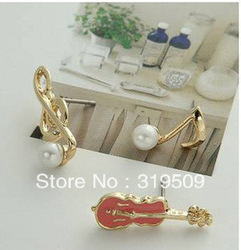 Ear nail earring South Korea earrings jewelry silver jewelry fashion to unveil new pearl import(China (Mainland))