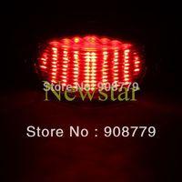 LED TAIL/TURN Signal Brake Light for Kawasaki NINJA 650R 06 07 08 SMOKE Free Shipping