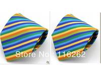 Man leisure colorful multicolor dress tie