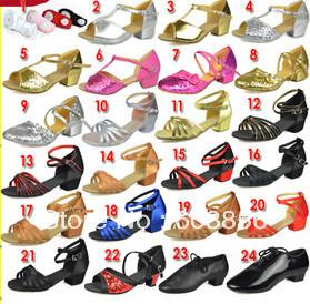 Children latin/modern/practice dance shoes, Girls Shoes, Kid Salsa ...