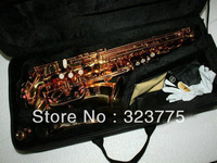Wholesale - best Advanced alto sax 62 Alto Saxophone Golden High Quality free case IN STOCK