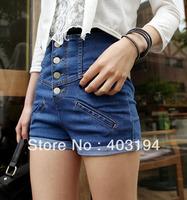 Осенние Женские джинсы джинсовые брюки отверстие badge брюки гарем брюки плюс размер женщин высокой талией