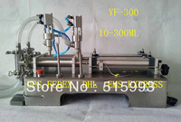 10-300ml automatic liquid filling machine Stainless steel 304 material,double heads easy cleaning