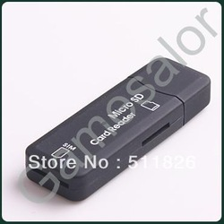 Free shipping USB Sim card reader/writer/copy/backup GSM/CDMA 9523(China (Mainland))