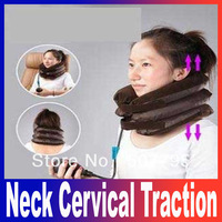 High quality ,factory price.New PNEUMATIC Neck Cervical Traction Brace Device neck massager For Head Shoulder Pain dropshopping