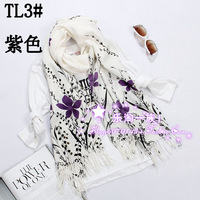 Large cape tl4 autumn and winter long scarf