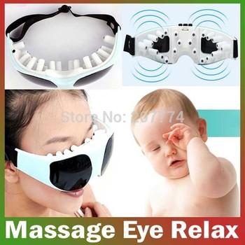 wholesale batteries Electric eye care Massager Small Massor ergonomic design, eye massager Free Shipping
