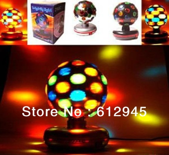 Free shipping Flash magic ball/wedding stage light/dragon ball lamp/led stage light/bar lamp manufacturers(China (Mainland))