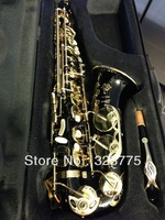 best Newest beautiful MODEL YAS62 BLACK LACQUER ALTO SAXOPHONE SAX SUPER SHAPE!
