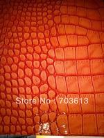 2013 fashion leather, Wholesale and retail high quality PU leather,PU crocodile leather, PU mirror leather B64 1.0mm+-5%