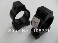 Free shipping  1 pairs  1 INCH FLASHLIGHT RING MOUNT FOR 20MM Track MOUNT(H2001)