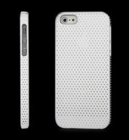 Factory Price! New Dense Mesh Hard Back Case for Apple iPhone 5 wholesale 500pcs/lot DHL Free Shipping