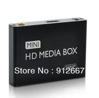 Mini 1080P High-Definition Media Player for TV (HDMI, USB, SD, AV)