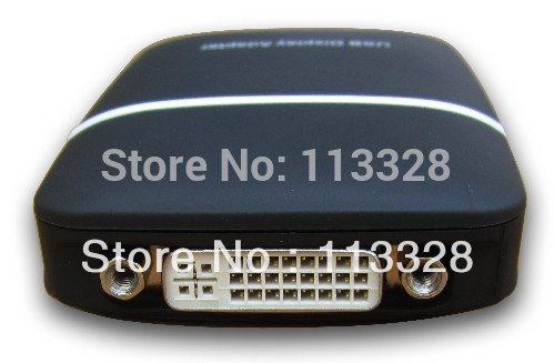 Free Shipping of USB graphics card usb vga dvi hdmi external graphics card 1920 *1080,Chpset:USB Displaylink Adapter(DL-165(China (Mainland))