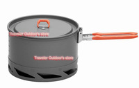 2012 New Arrive Heat Exchanger Camping Pot Outdoor Cookware Cooking Pot 1.5L FMC-K2