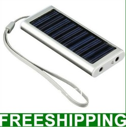 Free shipping 1350 MAh 5V mini Portable solar charger for iPhone iPad Galaxy S2 S3 for Nokia and more(China (Mainland))