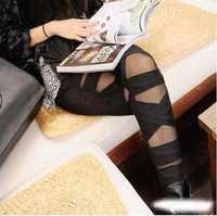 2014 New Fashion Ladies' Leggings Pants NA7825-1 Black