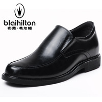 2013 Bligh hilton casual shoes male popular men's elevator leather spring and autumn fashion formal commercial leather