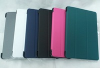 With sleep function High Quality Smart Cover Lather Case For ipad mini,30pcs/lot , DHL Free Shipping, C0040