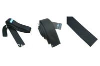 Black pinstripe 5 cm straight Angle narrow version tie fashionable narrow tie