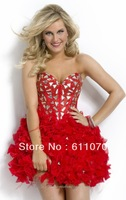Style 9201648 Color size can be customized/Fashion lovely honey/Crystal/Homecoming Dresses/Party Dresses/Cocktail Dresses