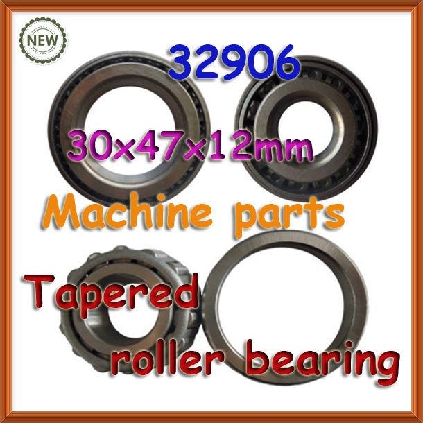 30mm wheel 32906 tapered roller bearing 30*47*12 30x47x12mm 2007906 taper bearing(China (Mainland))