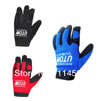 Free Shipping The latest arrival UTOW Thick Cycling Full fingerless Sports gloves with Shock Pad