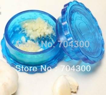 Kitchen Helper Tool Useful Garlic Crusher Peeler Spice Mincer Stirrer Presser Slicer Ginger