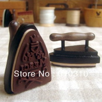 Free Shipping wholesale NEW cute vintage iron design French merci stamp / Decorative gift stamp (22pcs/lot)