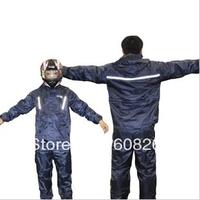 freeshipping!  wholesale TRC12 the Raincoat / motorcycle split raincoat / with reflective tape