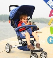Free shipping baby stroller The latest super shock-absorbing foldable ultra portable aluminum alloy stroller/ umbrella vehicle