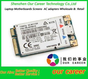 desbloqueado lenovo thinkpad tarjeta inalámbrica para ericsson f3507g 43y6513 3g x200s t400 sl400 tarjeta wwan