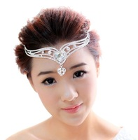 2013 Crystal Bridal Tiara Rhinestone Quinceanera Pageant Tiaras & Crowns Wedding Hair Headband Accessories Jewelry Set WIGO0068