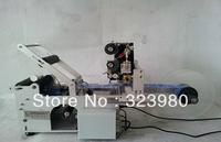 Free shipping, New hot sale, Semi-Automatic Round Bottle Labeling Machine Date printing machine