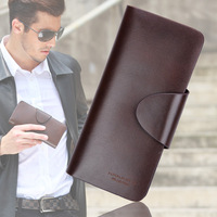 OTTO Male wallet male medium-long genuine leather wallet commercial men's long design purse free shipping