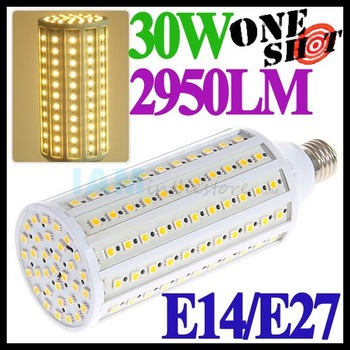 Extreme Bright 2950LM 30W E27 Corn LED Light Bulb 110v/220v White/Warm Chandelier Lamp