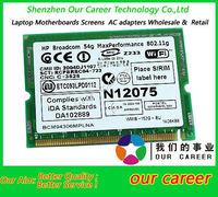 Wholesale BCM94306 BCM4306 IEEE 802.11b/g Mini PCI WLAN Card 377408-002
