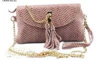 Fashion NEW snake- print cow leather shoulder bag handbag messager bag satche