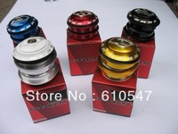 Free shipping SARS 44MM bearing headset / Concealed bowl group / Anode color bowl group / bike bicycle washer