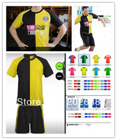 Customize personality 2012-13 men's soccer uniform,10pcs small MOQ,with your own color,team logo.