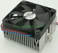 6cm Original double ball cpu fan lga370 industrial machine  fan heatsink